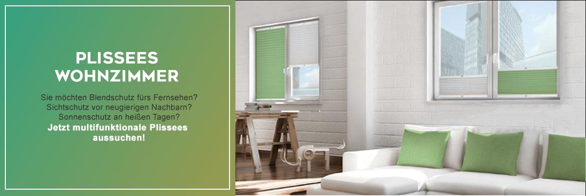 Wohnzimmer Plissees – schnell & günstig online Livoneo®