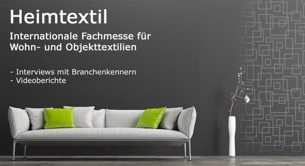 Heimtextil 2017 - Interviews mit Branchenkennern