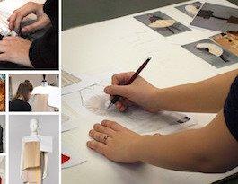 Rollos-Plissee-Modedesign von der Weißensee Kunsthochschule