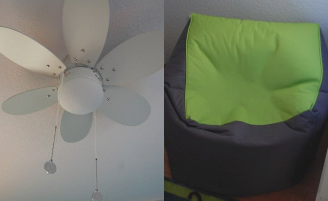 Mamainausbildung - Ventilator, Sitzkissen