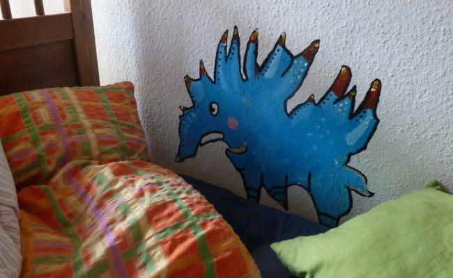 Nochmehrzwillingsblog Bett