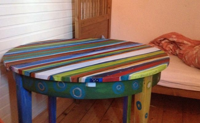 Nochmehrzwillingsblog Tisch