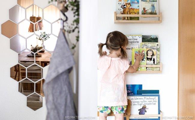 Kinderzimmer und Spiegel