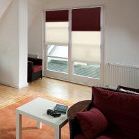 Duo Plissee als stilvolle Fenstergestaltung