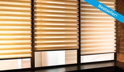 Maß-Doppelrollos von Livoneo.de - Moderner Sonnenschutz in vielen Farben