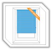 Montage auf dem Fensterflügel mit Klemmträgern