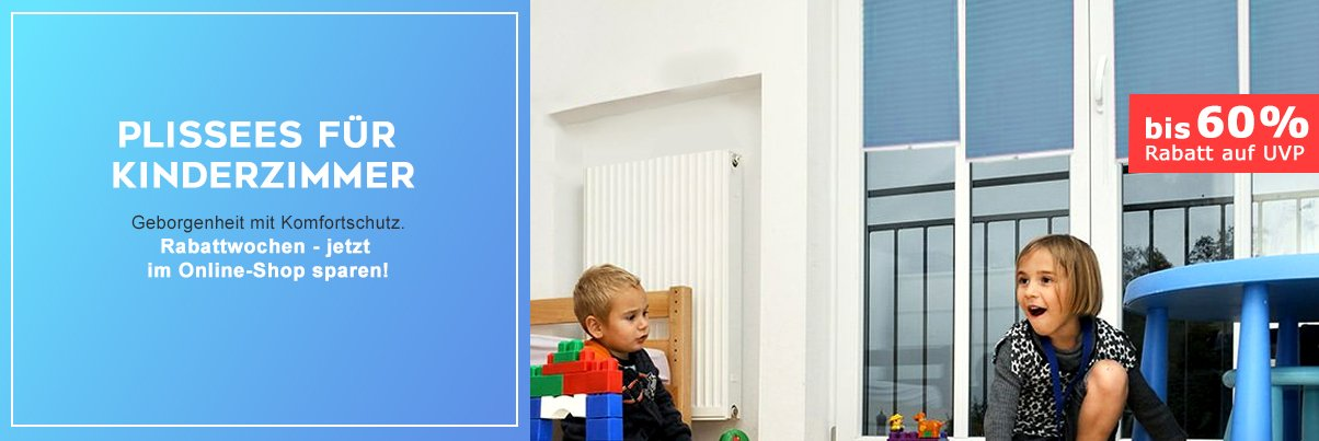 kinderzimmer plissees verdunkelung und sichtschutz f r kinder livoneo. Black Bedroom Furniture Sets. Home Design Ideas