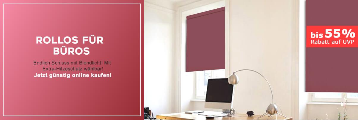 rollos f r b ros blendschutz g nstig online bestellen livoneo. Black Bedroom Furniture Sets. Home Design Ideas