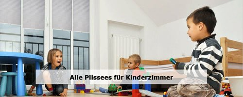 Kinderzimmer Plissees