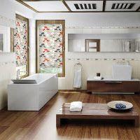 Ein Sichtschutz-Badezimmer schützt vor neugierigen Blicken