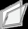 Messen Fenster mit Sonderform