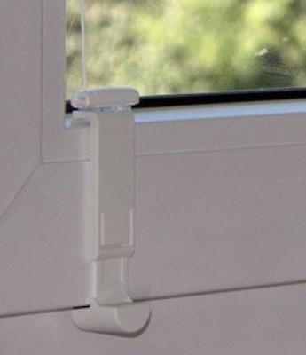 Montage in der Glasleiste mit Falzfix - Detailfoto