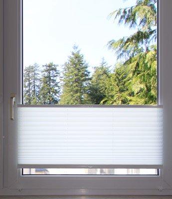 Montage auf dem Fensterflügel mit Klemmträgern - Montagefoto