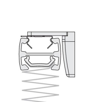Montage am Mauerwerk Detailansicht