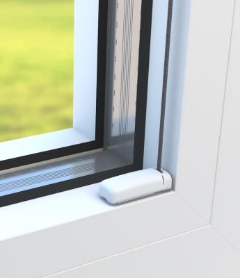 Montage in der Glasleiste - Detailfoto