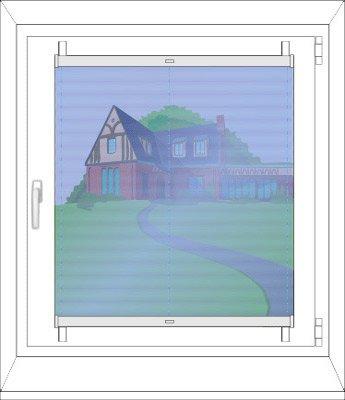 Montage in der Glasleiste mit Stick&Fix Front