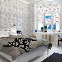 Schlafzimmer Plissee