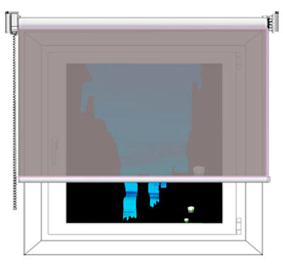 rollo transparent blickdicht oder abdunkelnd infos bei livoneo livoneo. Black Bedroom Furniture Sets. Home Design Ideas