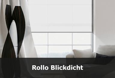 Blickdichte Rollos