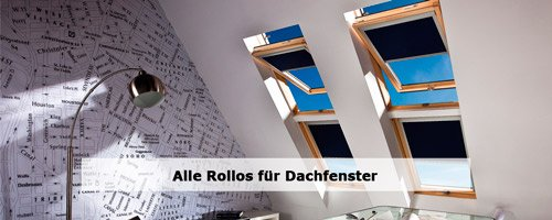 Dachfenster Rollos