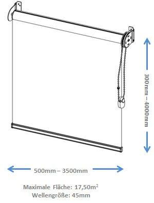 Technische Zeichnung Modell Maxi