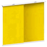 Schiebegardinen Gelb