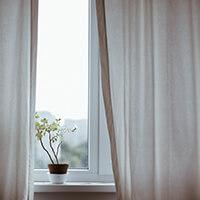 Sichtschutz Vorhang blickdicht oder verdunkelnd