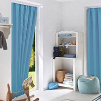 Sonnenschutz Vorhang als Abschattung der klassischen Art