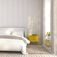 Verdunkelungsgardinen Schlafzimmer sind funktional