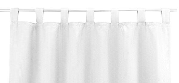 Vorhang Trapani - Befestigung mit Schlaufen