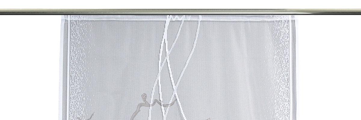 Ligure - transparente Schiebegardine
