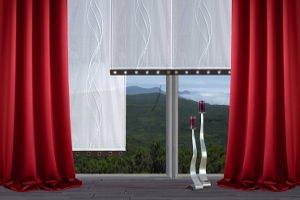 Gardinen - oft als Vorhang bezeichnet