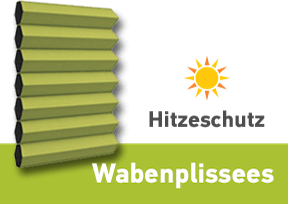 Wabenplissee