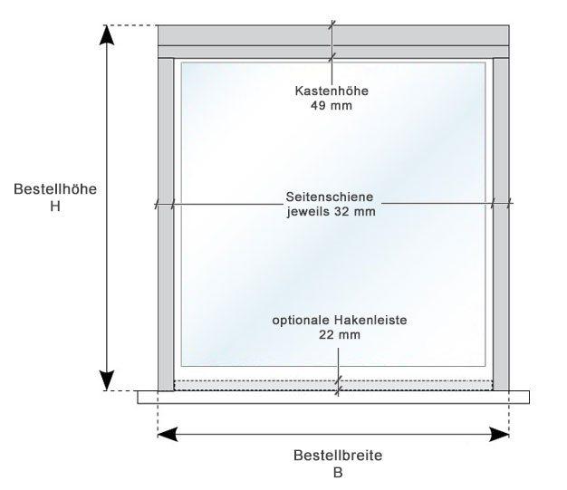 Vorschaubild Rahmenmaße